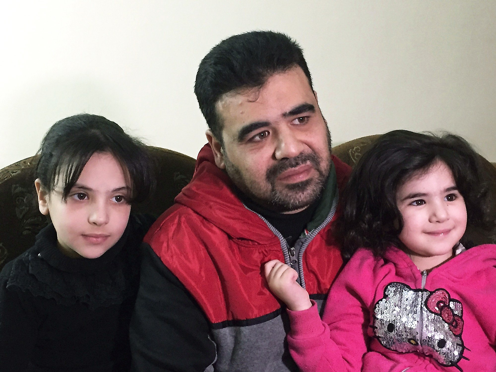 Syrian refugee Mahmoud Mansour has been undergoing vetting for resettlement to the U.S. for the past year, says he was devastated by the travel ban and remains confused about how the revised version could affect his future in the U.S. AP Photo/Karin Laub