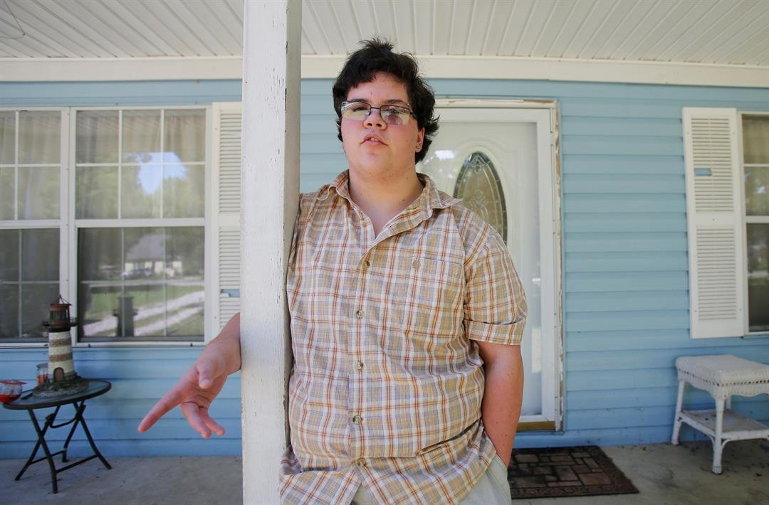 Supreme Court justices said Monday, they have opted not to decide whether federal anti-discrimination law gives high school senior Gavin Grimm the right to use the boys' bathroom in his Virginia school. (AP Photo/Steve Helber, File)