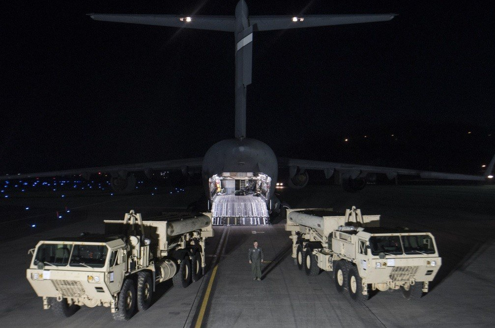 In this photo provided by U.S. Forces Korea