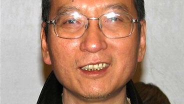 In this photo taken in November, 2007 and released by Liu Xiaobo's friend Oct. 8, 2010, Liu poses during a gathering in Beijing. (AP Photo)