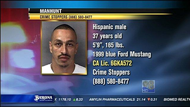 Police are seeking Gonzales' estranged husband, 37-year-old Armando Perez.
