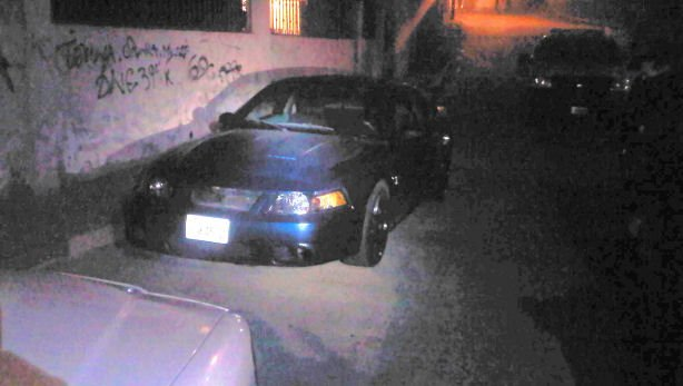 Armando Perez's blue Ford Mustang was found in the early hours of Thursday morning in western Tijuana.  Perez reportedly has relatives in the area.