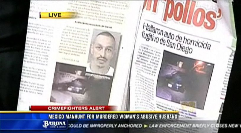 The manhunt for 37-year-old Armando Gabriel Perez is front page news in Tijuana.