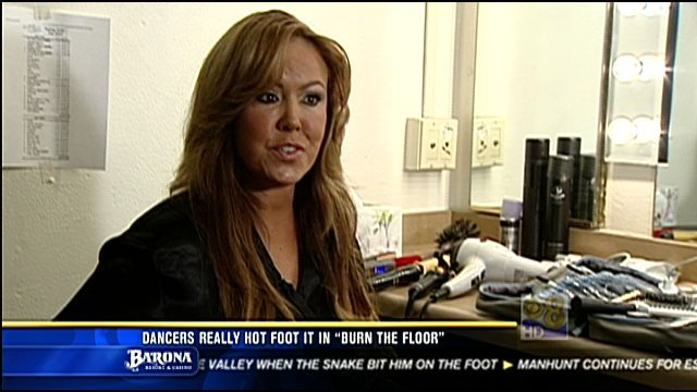 """Burn the Floor"" guest star and San Diego resident Mary Murphy talks to News 8 about performing in her hometown."