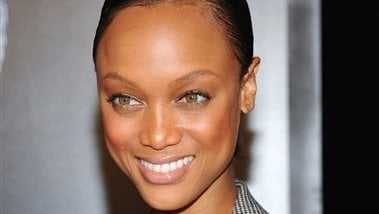 This Sept. 20, 2010 photo shows television personality Tyra Banks at the premiere of 'Wall Street: Money Never Sleeps' at the Ziegfeld Theatre in New York. (AP Photo/Evan Agostini, file)