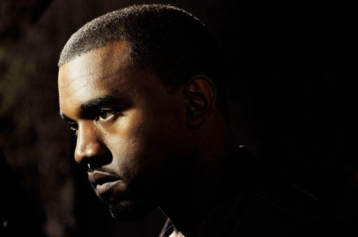 """Hip-hop artist Kanye West is pictured before a screening of """"Runaway."""" (AP Photo/Chris Pizzello)"""