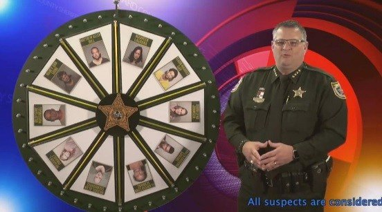 Sheriff Wayne Ivey, the show's Pat Sajak, had the idea and the personality to host it.