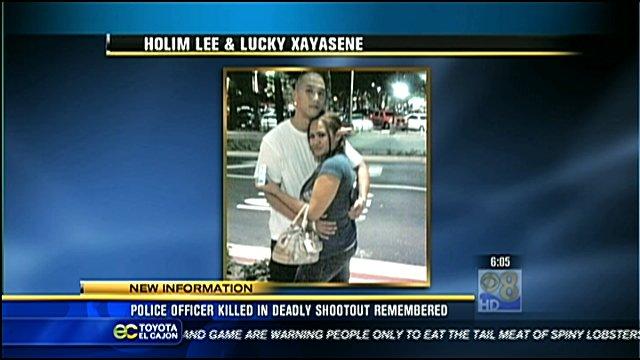 Holim Lee and Lucky Xayasene