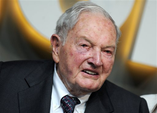 Photo by: Dennis Van Tine/STAR MAX/IPx 2016 6/1/16 David Rockefeller, Sr. at the Museum Of Modern Art Party In The Garden. (NYC)