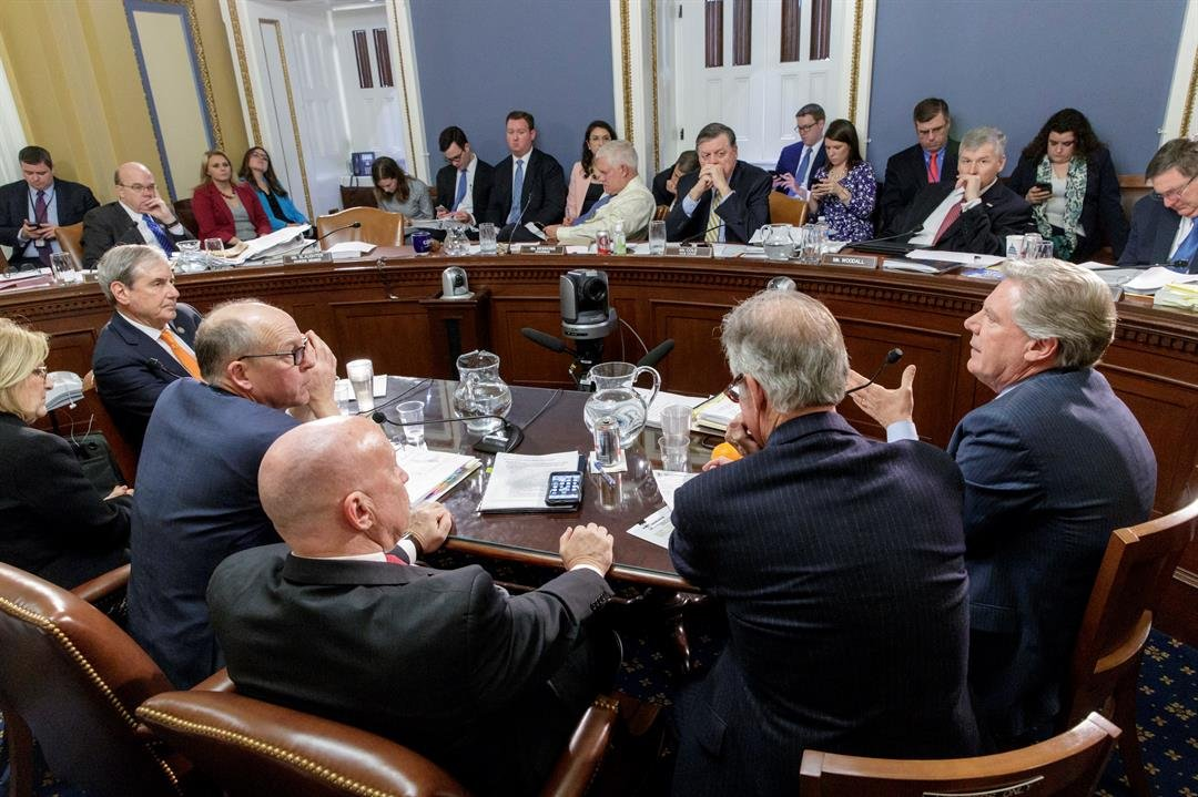 The House Rules Committee meets to shape the final version of the Republican health care bill before it goes to the floor for debate and a vote, at the Capitol in Washington, Wednesday, March 22, 2017. (AP Photo/J. Scott Applewhite)