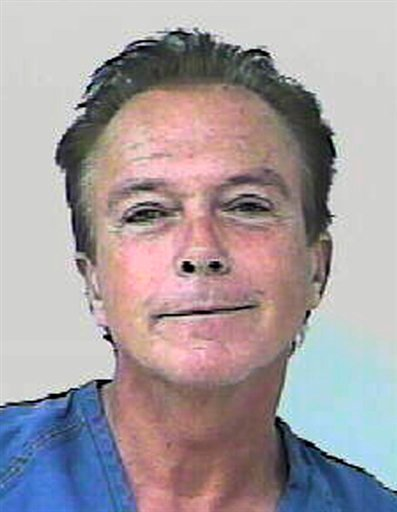 """In this undated photo provided by the Florida Highway Patrol, former """"Partridge Family"""" heartthrob David Cassidy is shown."""