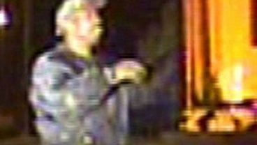 This image made from surveillance video released by the Riverside Police Department Monday, Nov. 8, 2010, shows a man authorities say they believe is the gunman suspected of fatally shooting Riverside police officer. (AP Photo/Riverside Police Department)