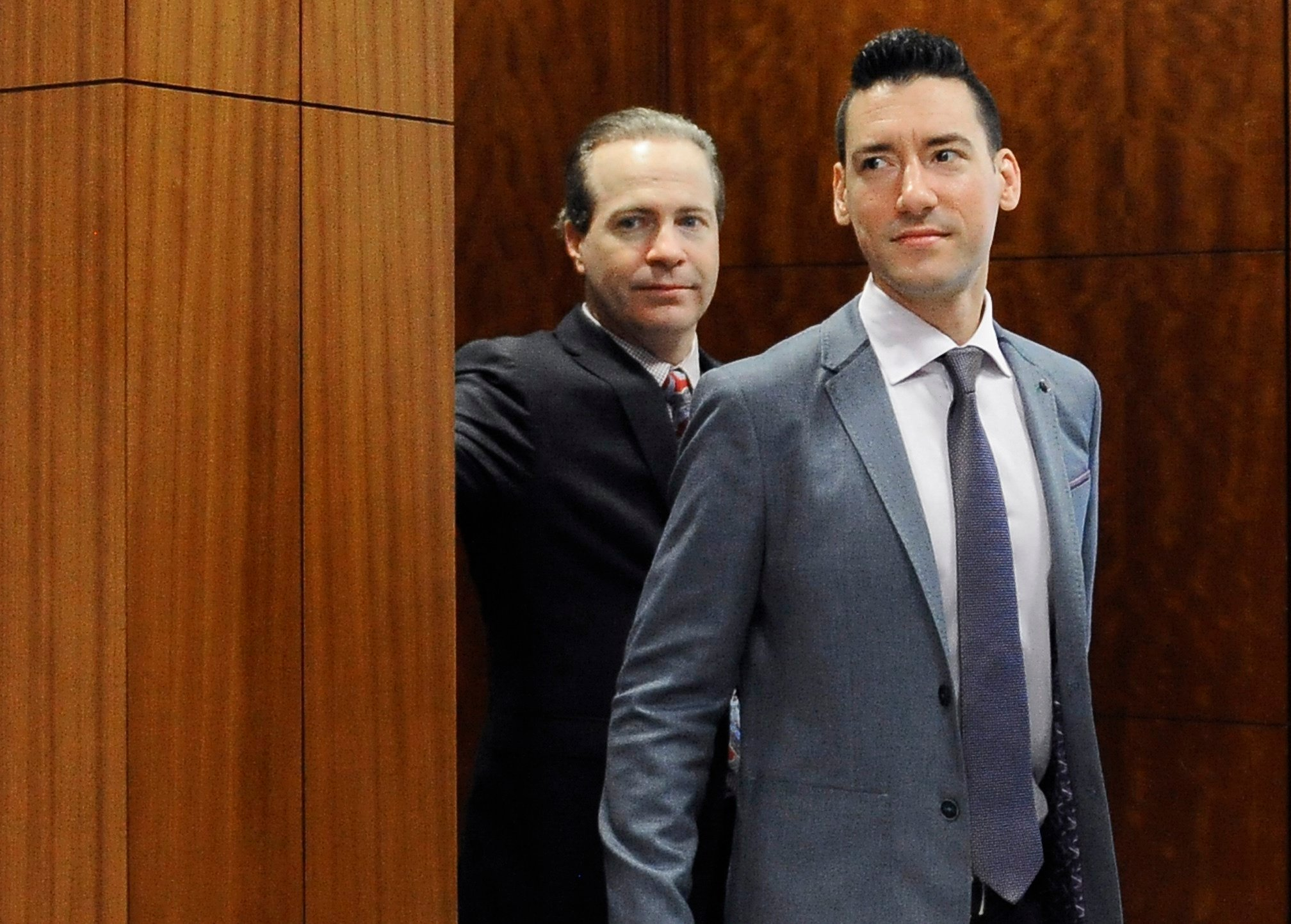 State Attorney General Xavier Becerra announced the charges Tuesday, March 28, 2017, against Daleiden and Sandra Merritt. (AP Photo/Pat Sullivan, File)