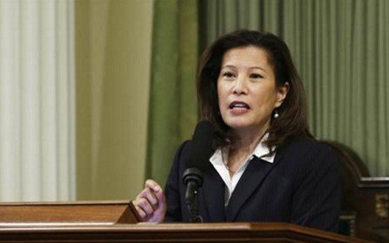California Supreme Court Chief Justice Tani G. Cantil-Sakauye delivers her annual State of the Judiciary address.