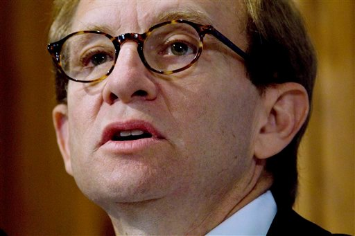 In this Oct. 21, 2009 file photo, Steven Rattner, former head of the Obama administration's task force on the auto industry, speaks at the National Press Club in Washington. (AP Photo/J. David Ake, File)