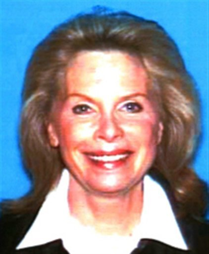 In this undated photo released by the California Department of Motor Vehicles showing Hollywood publicist Ronni Sue Chasen, who was shot to death Tuesday, Nov. 16, 2010, in her Mercedes-Benz in a Beverly Hills neighborhood.