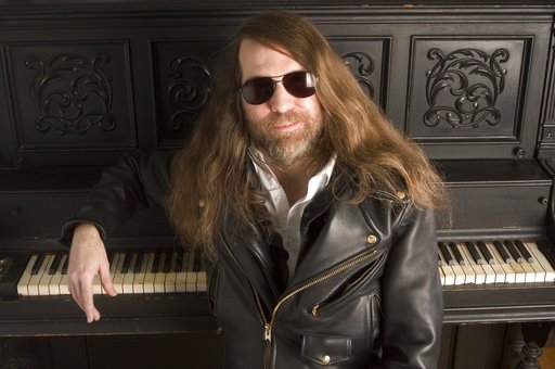 In this Oct. 20, 2006, file photo, Paul O'Neill of Trans-Siberian Orchestra, poses in New York.