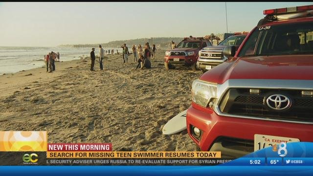 Search continues for missing swimmer in Pacific Beach