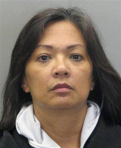 This handout photo provided by Fairfax County, Va., Police Department shows Carmela Dela Rosa.