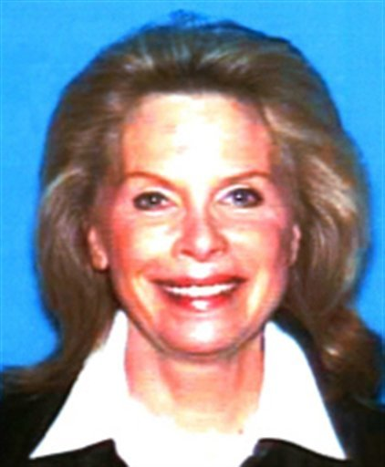 FILE - This undated photo released by the California Department of Motor Vehicles shows Hollywood publicist Ronni Sue Chasen, who was shot to death Nov. 16, 2010, in her Mercedes-Benz.