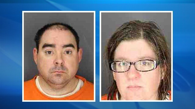 "Ernest and Heather Franklin decided to kill their disabled adoptive son and cover up the crime with a house fire after watching ""Manchester by the Sea,"" according to prosecutor handling the case. (Chenango County Sheriffs Office via AP)"