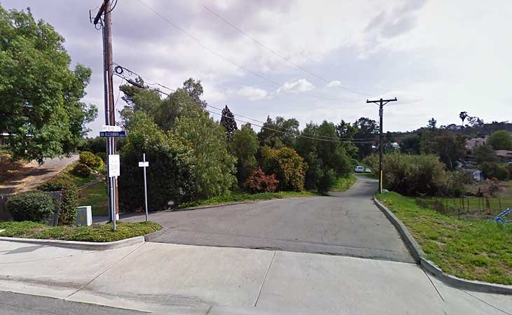 Google Street View - 1954 Via Scott, Escondido