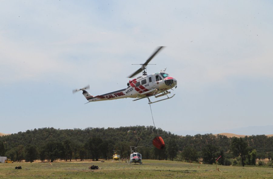 All CAL FIRE helicopters are flown by CAL FIRE pilots, while airtankers and airtactical aircraft are flown by contract pilots.