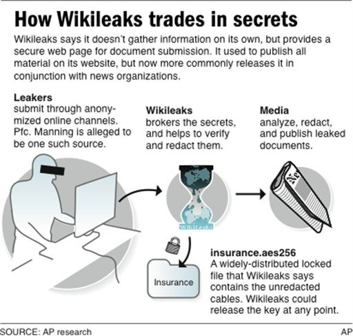 Graphic explains how leaks are posted to Wikileaks