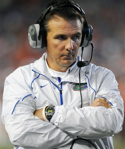 Meyer is stepping down as coach after the Gators appearance in the Outback Bowl.