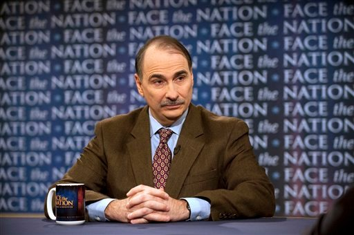 In this image provided by CBS, White House Senior Advisor David Axelrod talks about tax cuts on CBS's Face the Nation in Washington Sunday, Dec. 12, 2010. (AP Photo/CBS, Chris Usher)