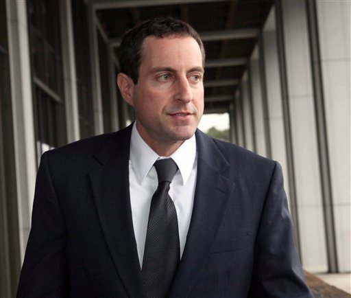 In this Dec. 11, 2009 photo, Anna Nicole Smith's lawyer and ex-boyfriend, Howard K. Stern leaves Los Angeles Superior Court after a hearing of the conspiracy trial of Stern, Sandeep Kapoor and Dr. Khristine Eroshevich. (AP Photo/Nick Ut, File)