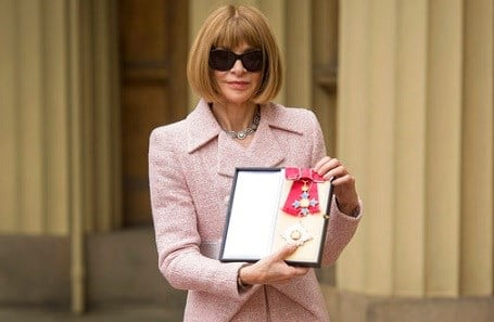 Editor-in-Chief, American Vogue and Artistic Director Dame Anna Wintour poses for a photo.