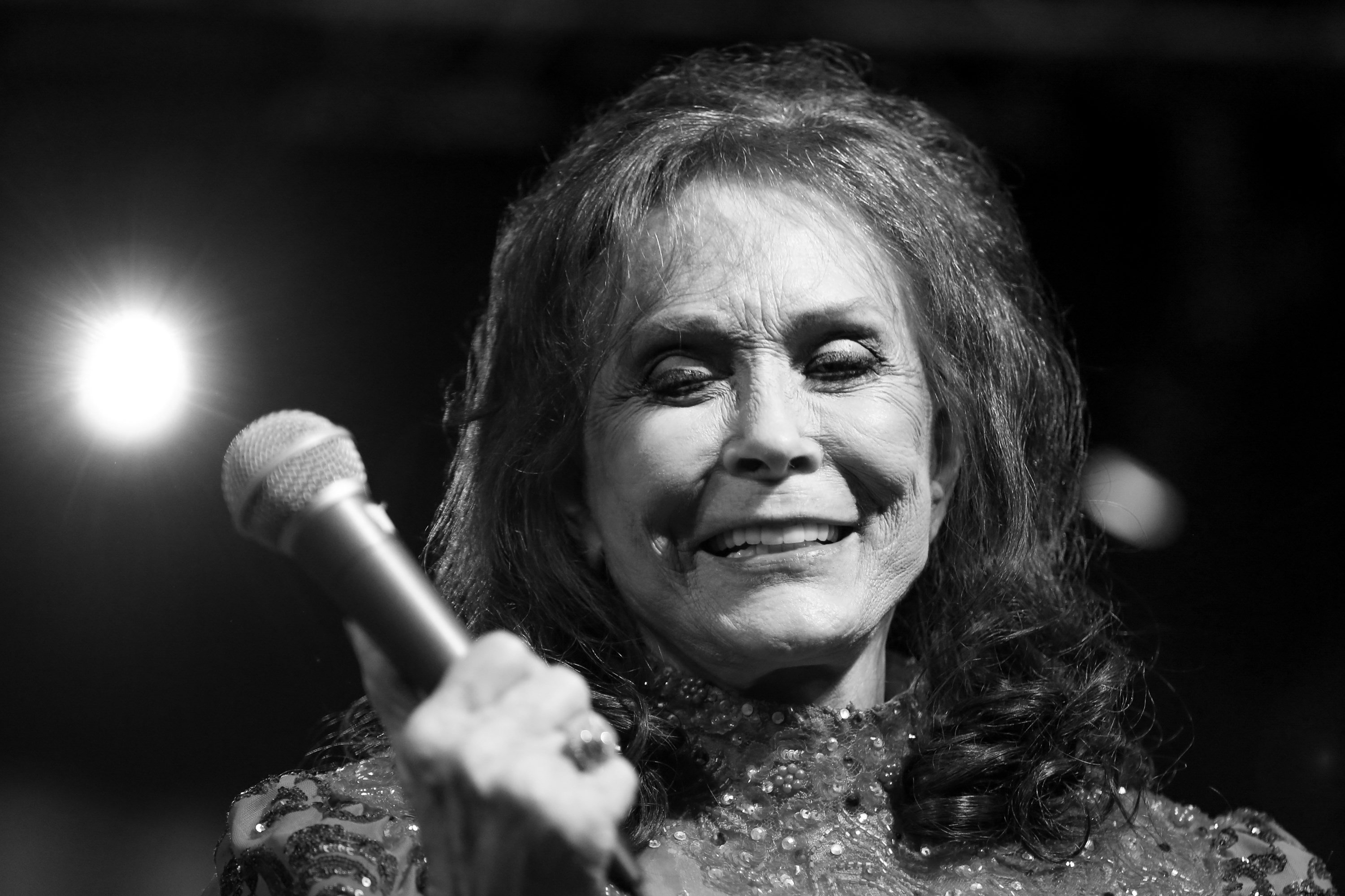 Loretta Lynn performs at the BBC Music Showcase at Stubb's during South By Southwest on Thursday, March 17, 2016, in Austin, Texas. (Photo by Rich Fury/Invision/AP)