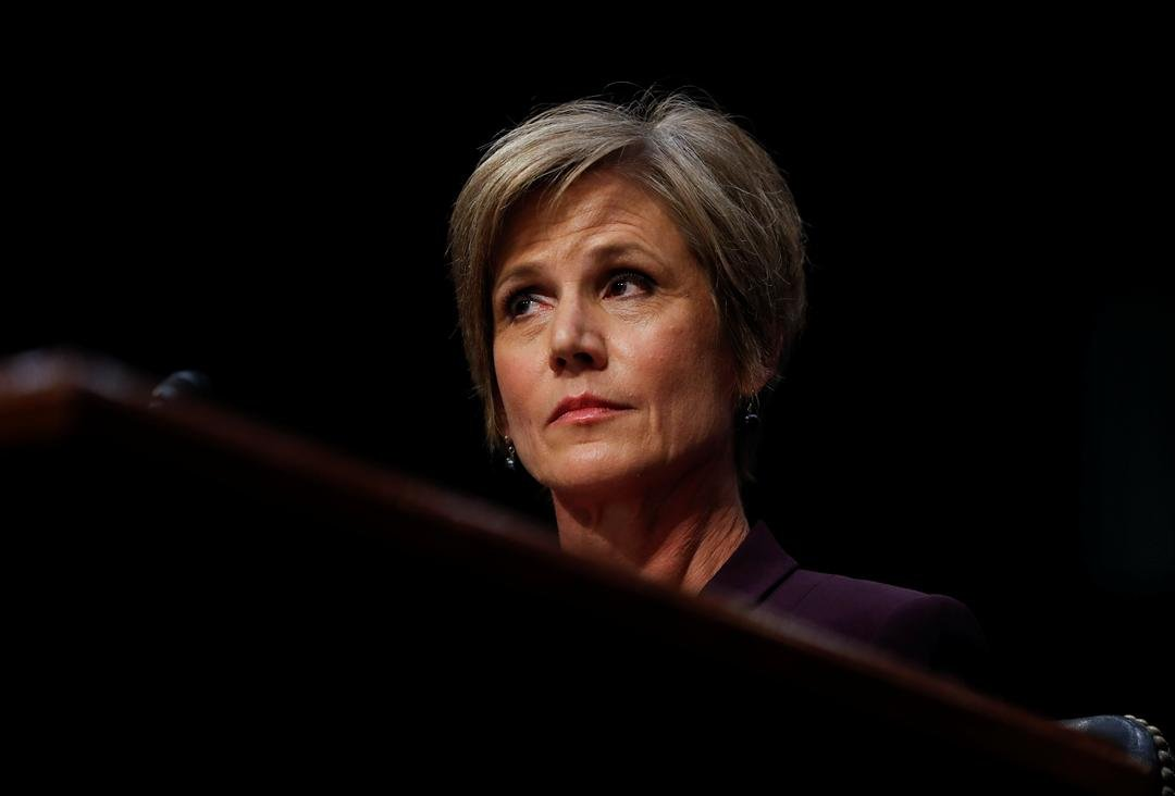 "Former acting Attorney General Sally Yates listens on Capitol Hill in Washington, Monday, May 8, 2017, while testifying before the Senate Judiciary subcommittee on Crime and Terrorism hearing: ""Russian Interference in the 2016 United States Election."" (AP"