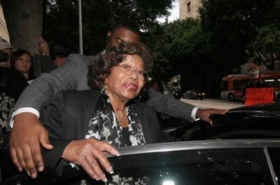 Katherine Jackson, Michael Jackson's mother, leaves court after a hearing for Jackson's doctor, Conrad Murray, Thursday Jan. 6, 2011 in Los Angeles.