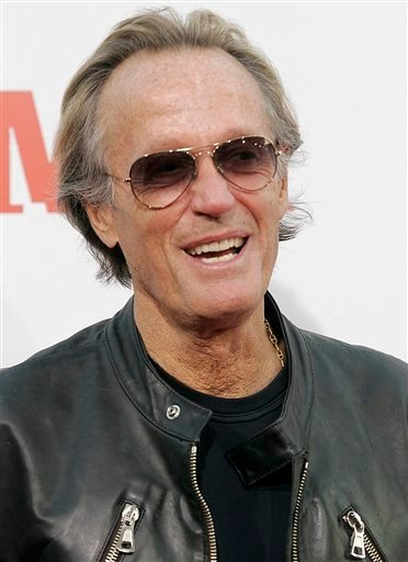 FILE - In this Aug. 21, 2007, file photo shows actor Peter Fonda who Los Angeles police have credited in the discovery of a dead body in a car in the Pacific Palisades area Wednesday, Jan. 12, 2011.