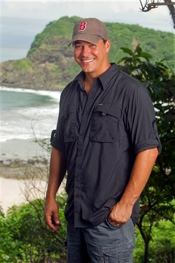 "In this undated publicity image released by CBS, returning ""Survivor"" contestant Rob Mariano is shown in Nicaragua. Mariano will compete in ""Survivor:Redemption Island,"" premiering Wednesday, Feb. 16, 2011 on CBS. (AP Photo/CBS, Monty Brinton) NO SALES"