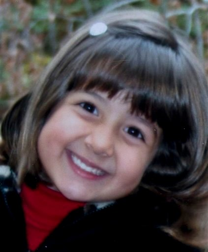 In this file photo provided by the Green family, Christina Green is shown. Green, 9, was killed at a political event with Rep. Gabrielle Giffords in Tucson, Ariz. on Saturday, Jan. 8, 2011.