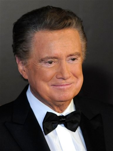 FILE - In this June 27, 2010 photo, host Regis Philbin arrives at the 37th Annual Daytime Emmy Awards, in Las Vegas. Veteran broadcaster Philbin says he's retiring from his weekday talk show.
