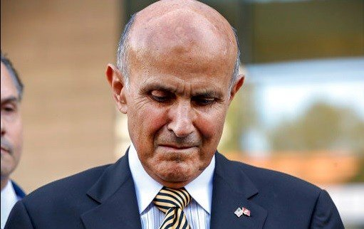 Former Los Angeles County Sheriff Lee Baca leaves federal court in Los Angeles.
