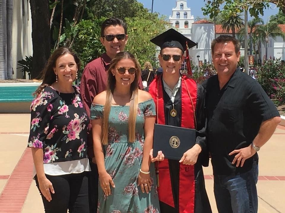 John Howard's son Ben was among SDSU's graduates.