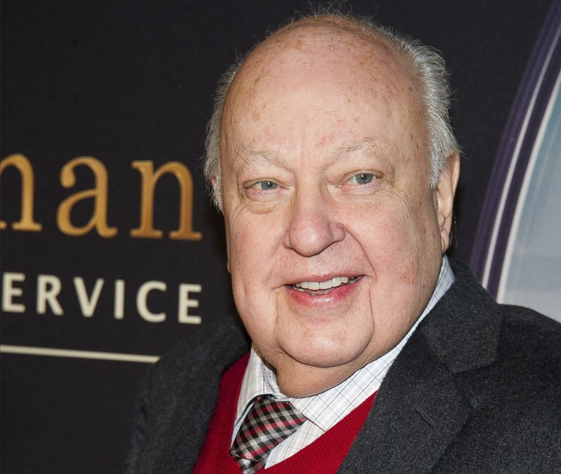 "In this Feb. 9, 2015, file photo, Roger Ailes attends a special screening of ""Kingsman: The Secret Service"" in New York."