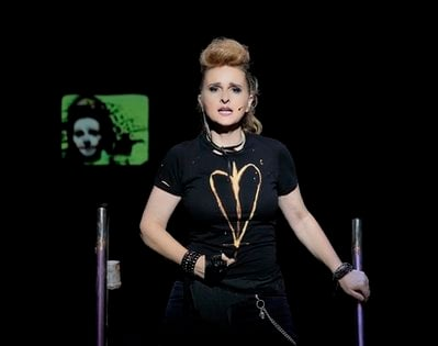 This undated photo provided by The Hartman Group shows Melissa Etheridge as St. Jimmy in 'American Idiot.'