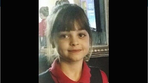 Saffie Roussos, aged 8, was the youngest of the 22 victims identified so far.