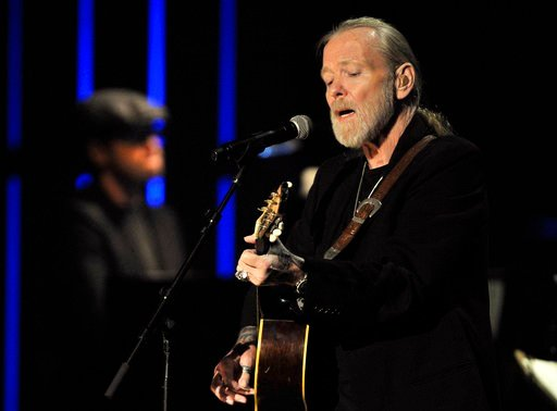 File- This Oct. 13, 2011, file photo shows Gregg Allman performing at the Americana Music Association awards show in Nashville, Tenn. (AP Photo/Joe Howell, File)