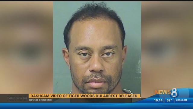 Police release video of Tiger Woods DUI arrest