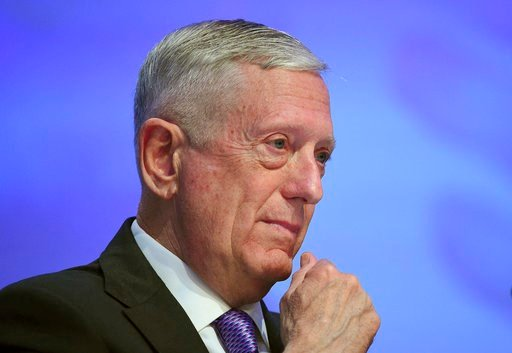 U.S. Defense Secretary Jim Mattis (AP Photo/Joseph Nair)