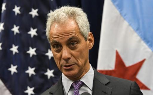 Chicago Mayor Rahm Emanuel Wednesday, Jan. 25, 2017, in Chicago. (AP Photo/Matt Marton)