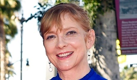 Glenne Headly attends an event honoring fellow actor Ed Harris with a star on the Hollywood Walk Of Fame.