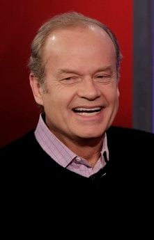 FILE - In this Dec. 15, 2010 file photo, actor Kelsey Grammer is interviewed on the 'Fox & friends' television program in New York.  (AP Photo, file)